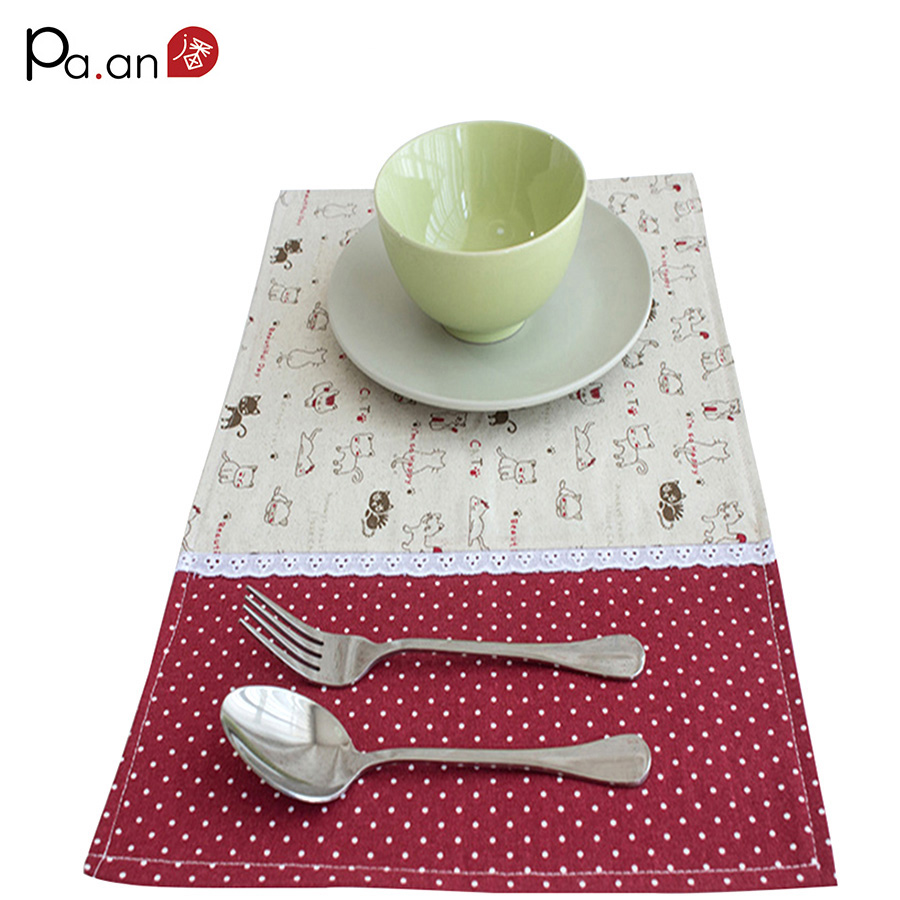 Kitchen coffee table mat decoration