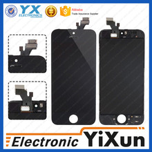 Complete original lcd touch display with back cover for iphone 5g accept Paypal