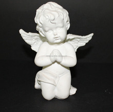 New Resin White angel Outdoor Figurine Decoration