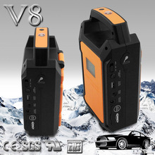 case to start the car extra battery power warning lights power bank started car emergency tool kit compressor starter