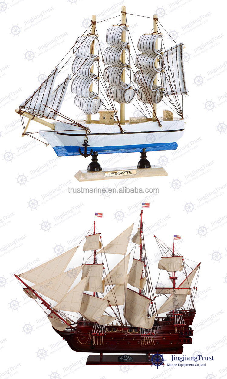 Chinese sailing ship model