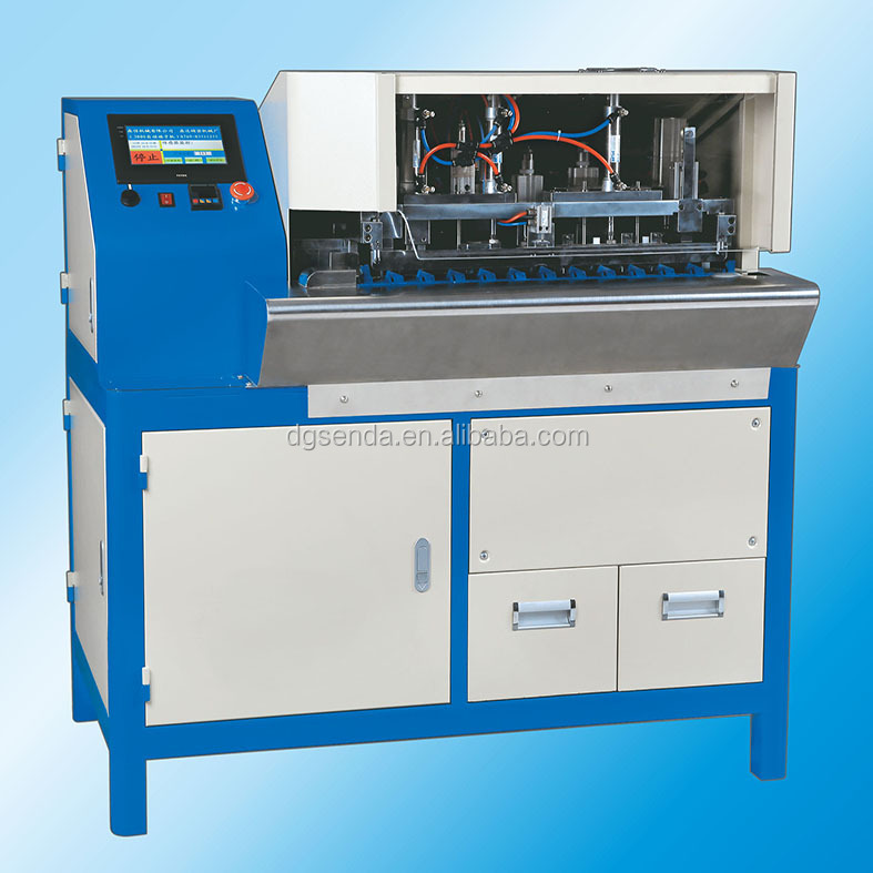 Overseas After-sales Service Power Cable Making Copper Wire Stripping Twisting Soldering Machine (SD-TT2008BS)