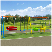 fashion Iron baby swing kids metal swing sets outdoor swing for kids