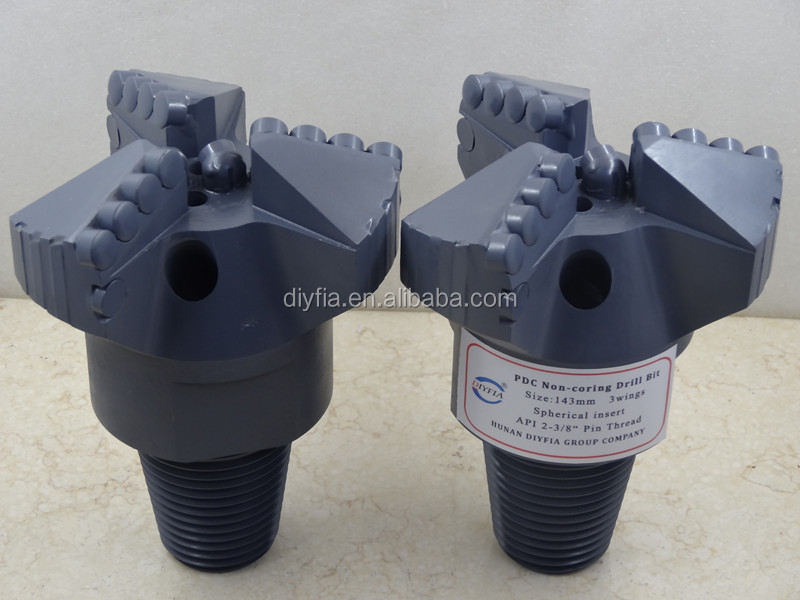 156mm 3wings oil drilling PDC drill bit