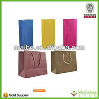 foldable shopping paper bag/popularized paper shopping bag/mini paper shopping bag printing