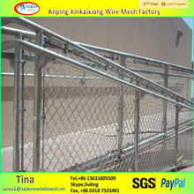 1800x 2400mm stainless steel chain link fence, used chain link fence for sale factory