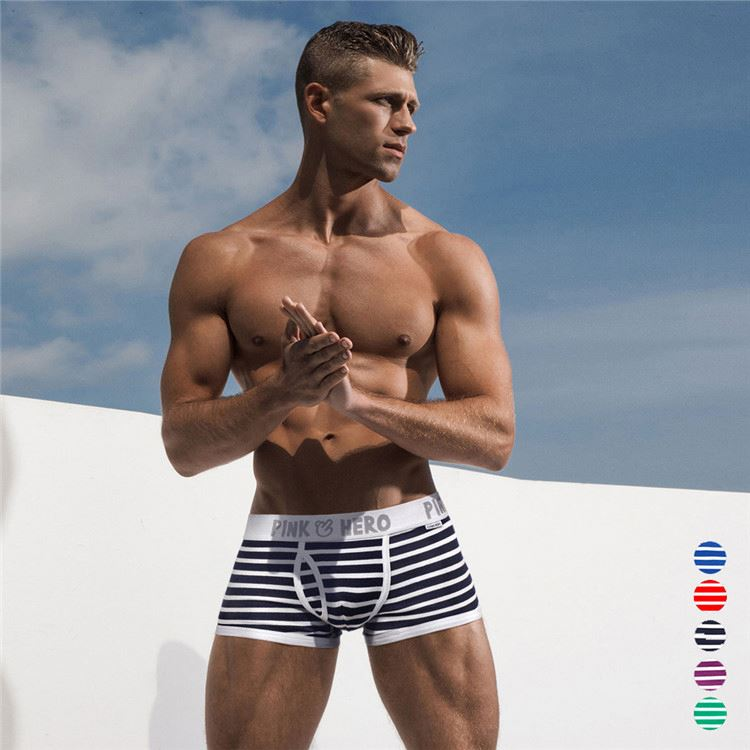 Famous Brand Authentic Apparel Underwear Wholesale Mens Boxers Underwear Made In China