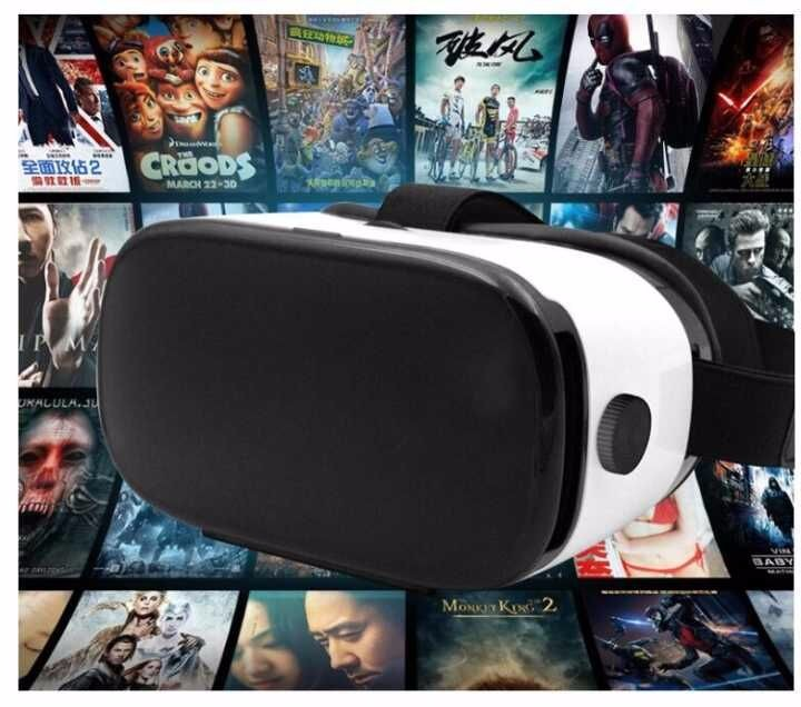 Best seller 2016 hot products virtual reality vr 3d glasses box 2.0 vr all in one vr