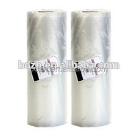 Nylon embossed vacuum sealer rolls for cooking food FDA approved
