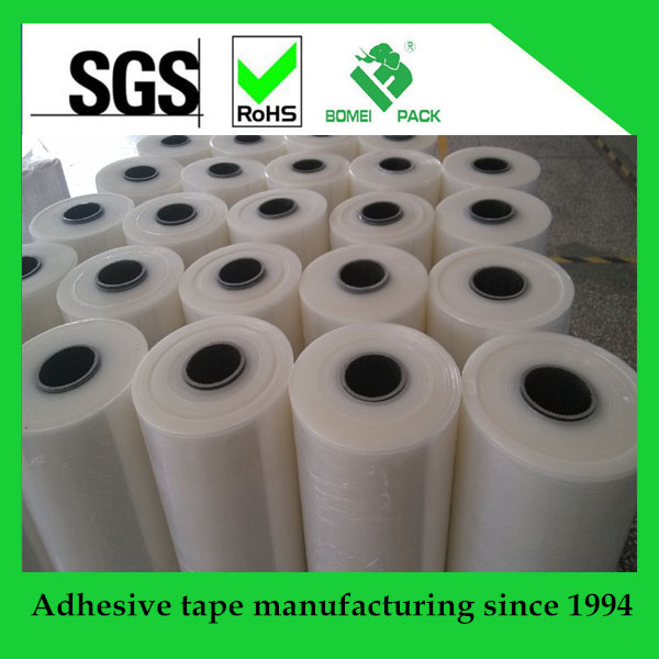 Stretch Film for Pallet Wrap Machine or Manual virgin plastic LLDPE with free samples