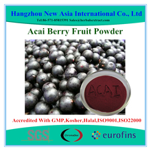 100% Water Soluble Acai Berry Extract With Kosher Halal ISO22000 Certificate