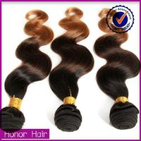 top quality ombre body wave 100 human hair burmese virgin hair for african american
