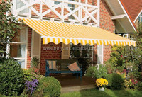 Retractable detachable outdoor big motorized canopy / awning