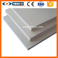 Regular Fireproof Waterproof Paper Faced High Quality Gypsum Board