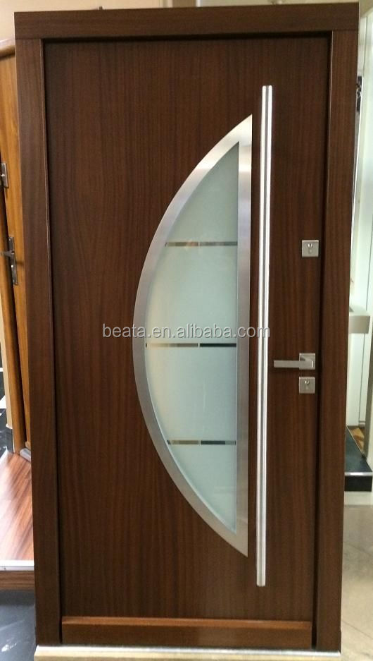 Bathroom/Office solid / Mahogany Wood Indoor Single Door