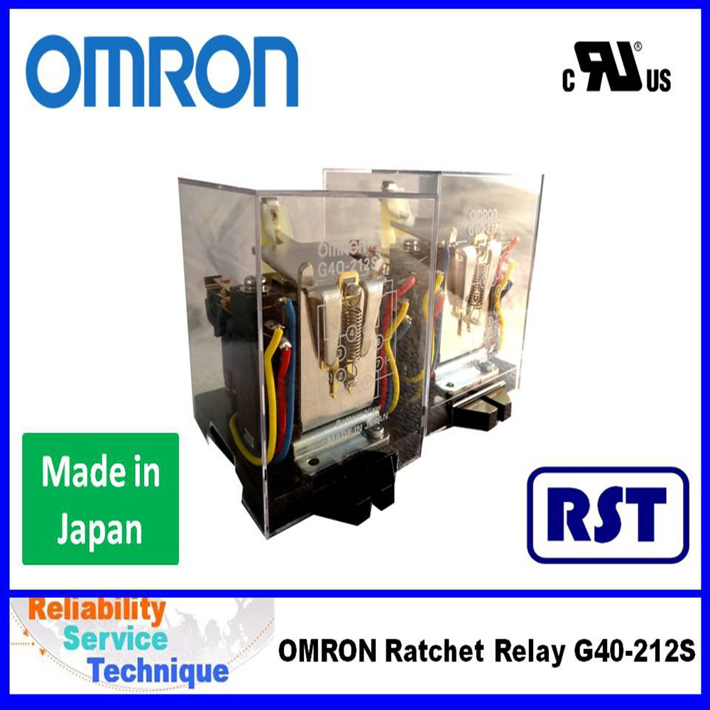 Made in Japan OMRON Ratchet Relay 250VAC/DC