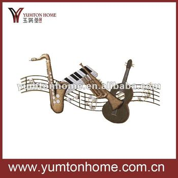 Music note ornaments wholesale