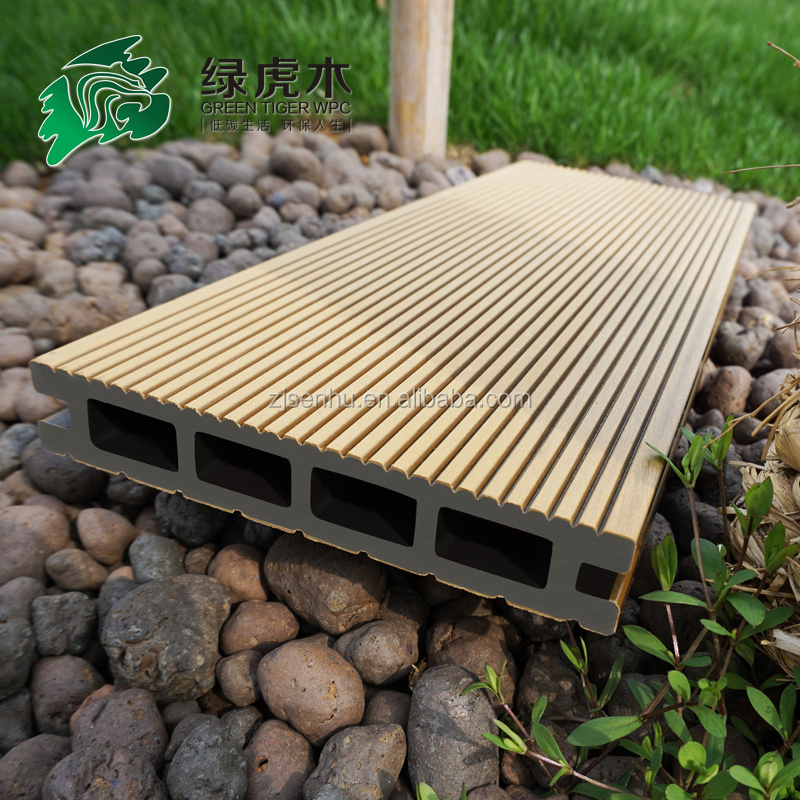 Decking Wood Polymer Composites : Hollow wpc decking wood plastic composite deck board buy