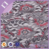 pretty and colorful cornelli and silver thread metallic design swiss voile lace fabric