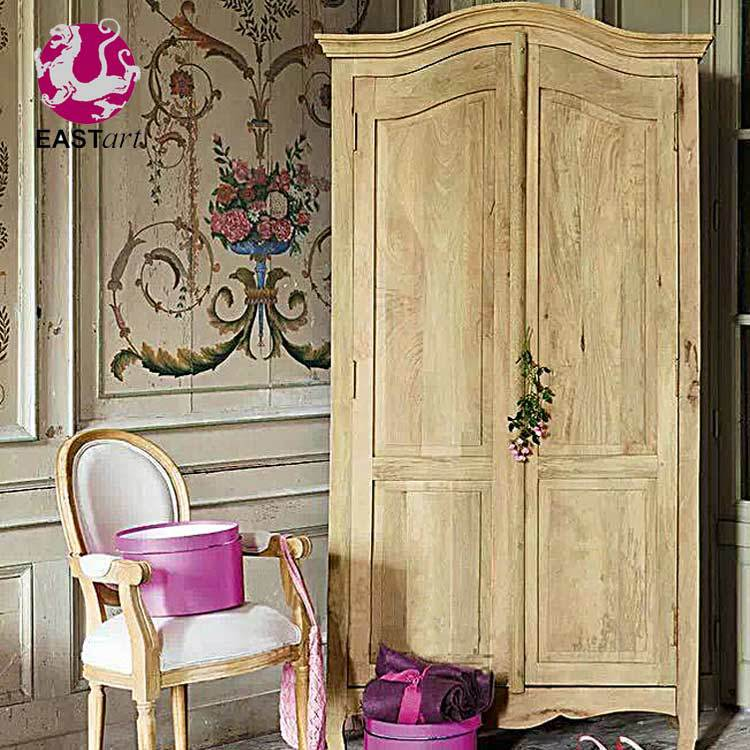 Specializing in the production of high-end new classical French style restoring ancient ways American two door solid wood wardro