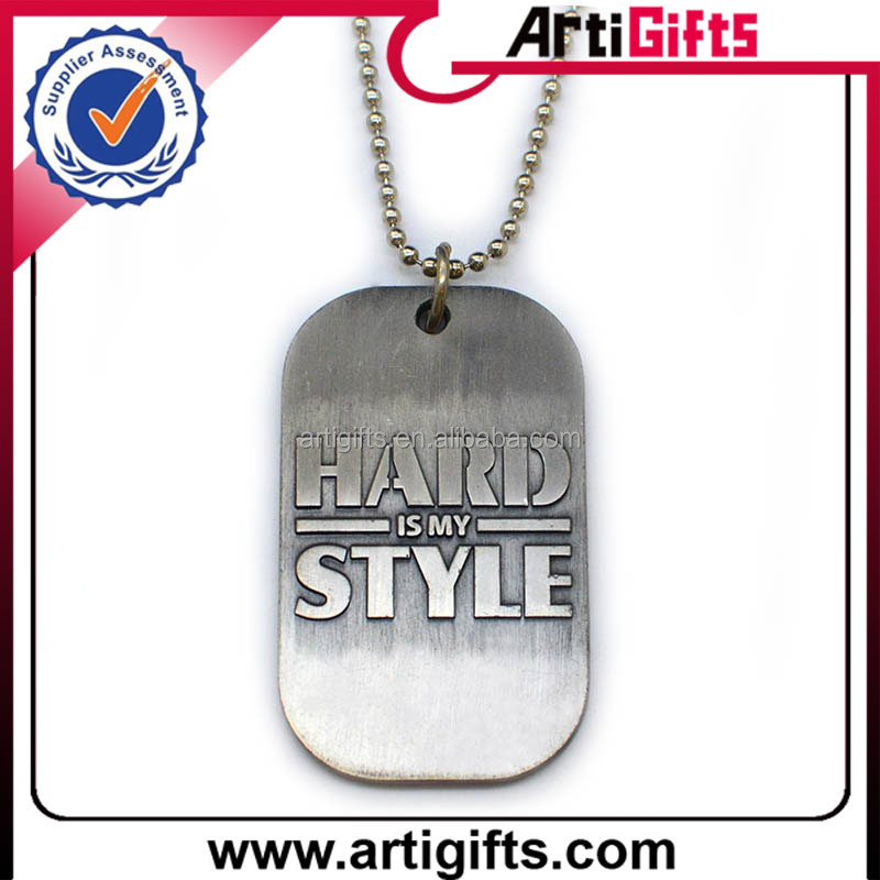 Artigifts wholesale cheap custom human dog tags