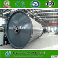 Waste Plastic Pyrolysis Plant From City