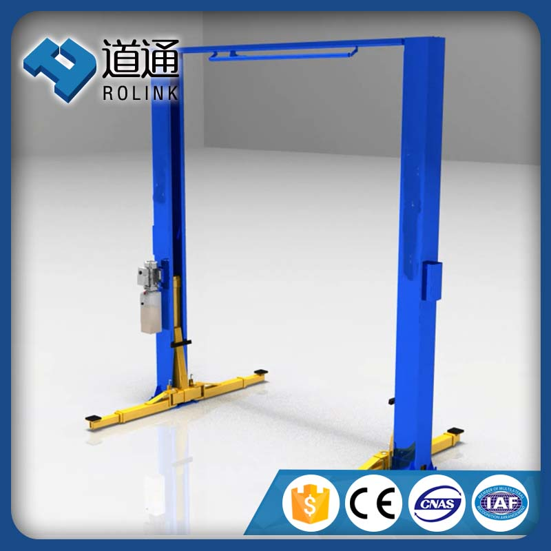 Hot rise hydraulic 2 pole car lifting jack
