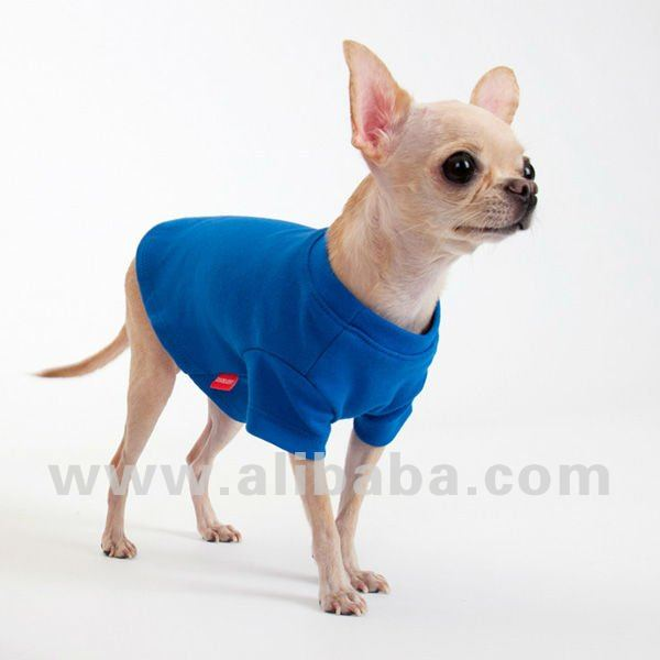 Cotton T shirt(Cobalt Blue) - Dog Clothing Pet Clothing Pet Clothes Dog T shirt