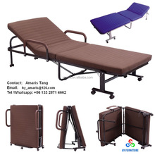 Premier metal folding beds folding sofa beds with mattress wholesale