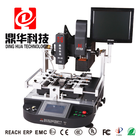 DH-A3 High Performance Easy Operation Optical Alignment BGA Rework machine For Motherboard Chip Fix