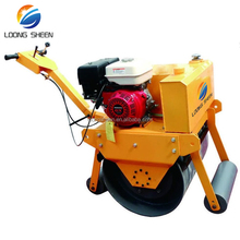 600Kg Lowest price walk behind road roller,mini road roller compactor for sale