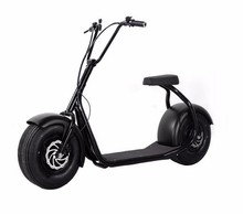 New style harley citycoco 800w 2 wheel electric scooter motorbike
