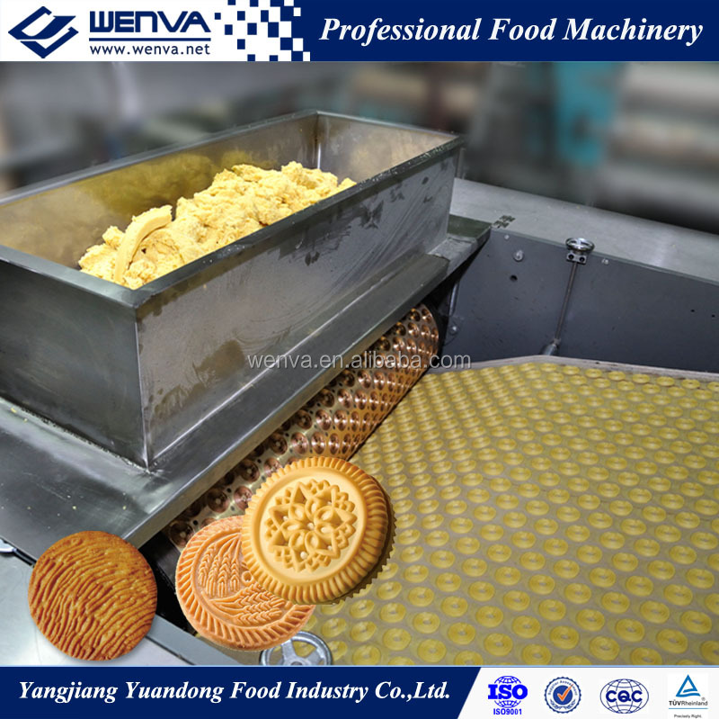 Industrial full automatic complete machine for biscuits and cookies