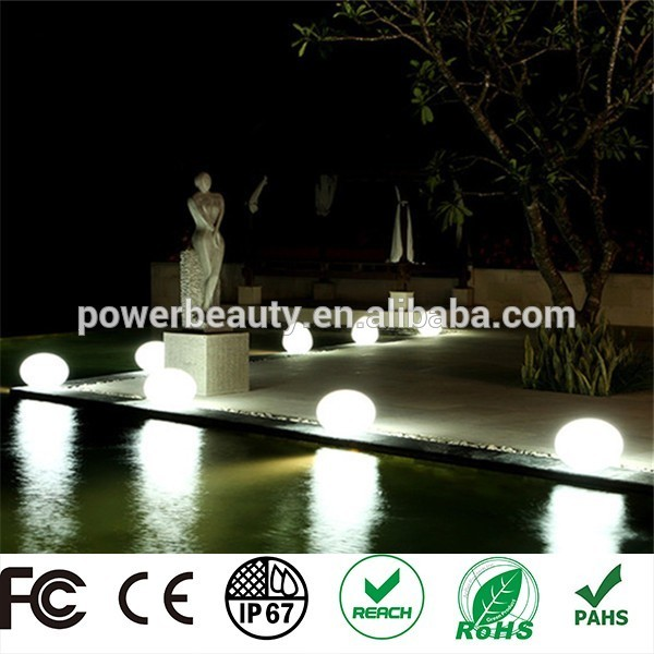 2016 hot sale waterproof wireless solar led light globe garden lights ball