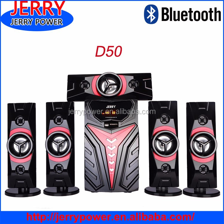 JERRY Hot 5.1 new design high quality cheap home audio subwoofers
