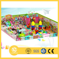 Amusement And Attractive Children Used Indoor Playground Equipment Theme Park