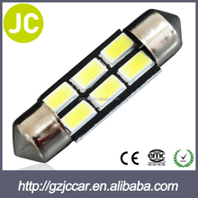 Extremely Bright 5730 Chipset LED Bulbs for Car Interior Lights License Plate light Festoon Dome Map light 36MM C5W 6000K Xenon