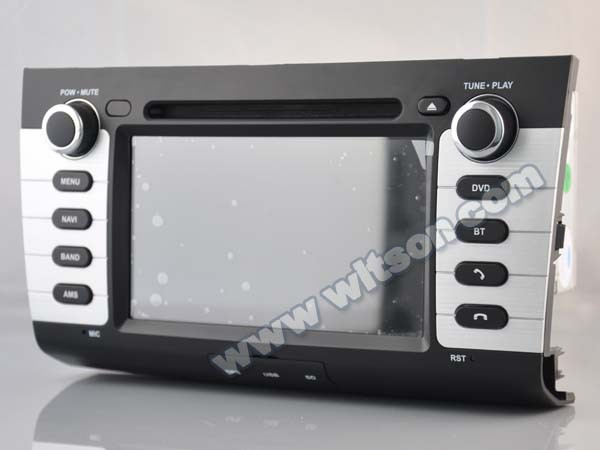 WITSON ANDROID 4.4 CAR AUDIO SYSTEM FOR SUZUKI SWIFT WITH CAPACTIVE SCREEN BLUETOOTH RDS 3G WIFI