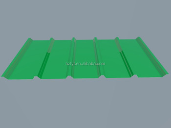 trapezoidal corrugated galvanized steel metal roofing sheet