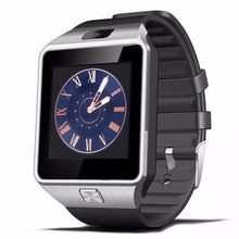 Hot sale MTK 6261 GSM wrist Android mens watch DZ09 high quality smart watch phone
