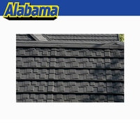 Zinc-aluminum coating and stone chip heat resistant roofing sheet, aluminium tile for roof