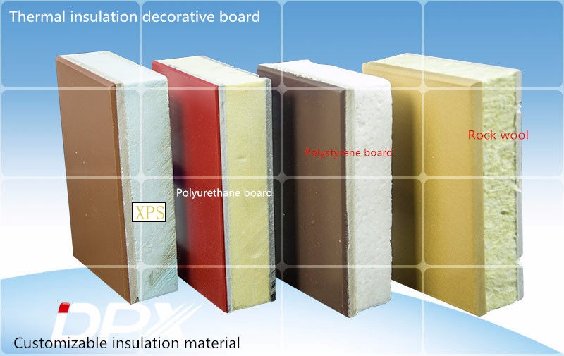 Insulation sandwich board insulation boards DPX