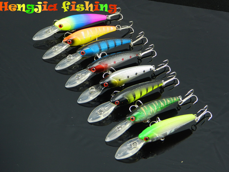 supply all kinds of artificial minnow fishing lures 9cm 8.3g for fishing shop and fishing tackle online shop business