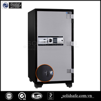 120 minutes fire rating office safe, combination lock safe inside an electronic lock safe