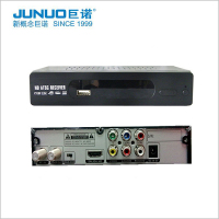 Shenzhen Junuo ATSC Analog to Digital TV Converter BOX HD Decodificador for Mexico Set Top Box