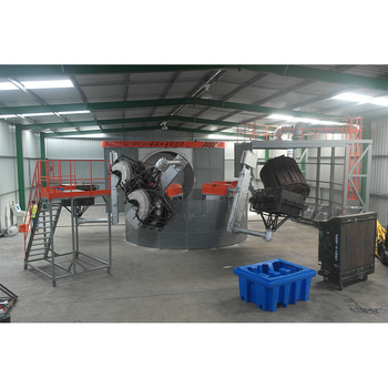 2 arms 3 working stations machine china market of electronic