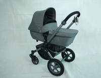 Healthy fabric materials in the folding pushchair with rain cover scientic baby pram design