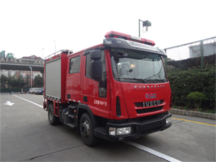 fire-extinguishing foam tanker/fire fighting truck