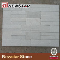 white indoor slate wall tile
