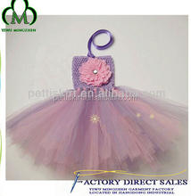 Wholesale Baby Girls Sequins Dress Prom Kids Ruffle Fluffy Dress